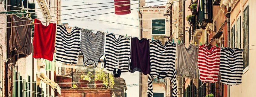 horizontale strepen in kleding