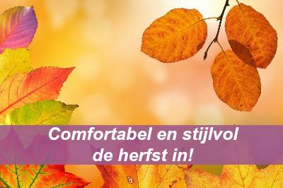 stijlvol in de herfst