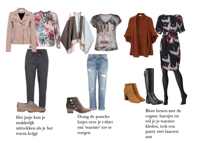kledingtips voor in het tussenseizoen