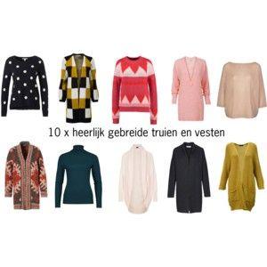 Lange Sweater Trui.10 X Gebreide Truien En Vesten Die Jou Stijlvol Warm Houden Deze Winter