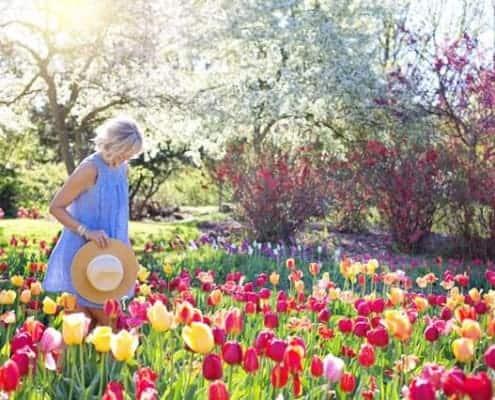 overgang van winter naar lentegarderobe