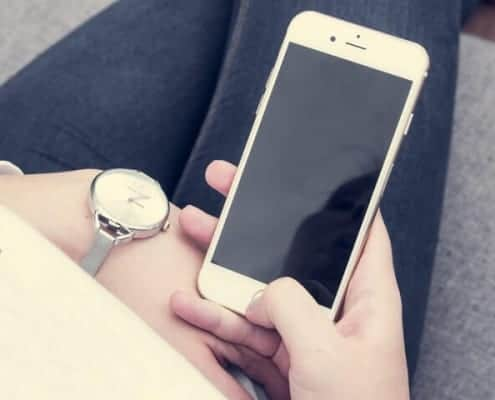De tijd checken op je telefoon of horloge?