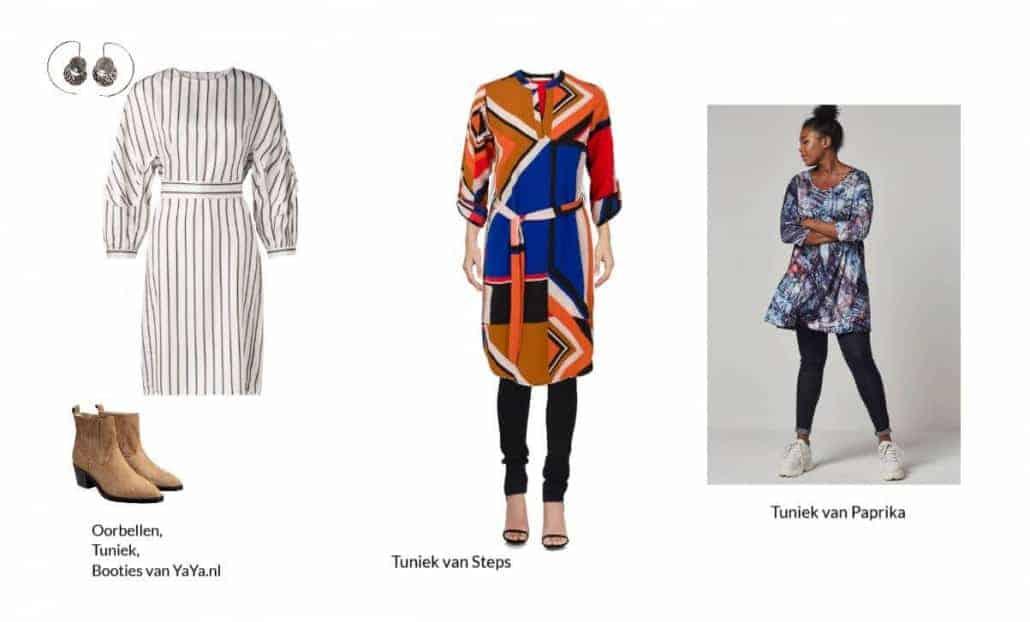 Hoe draag je een tuniek jurk