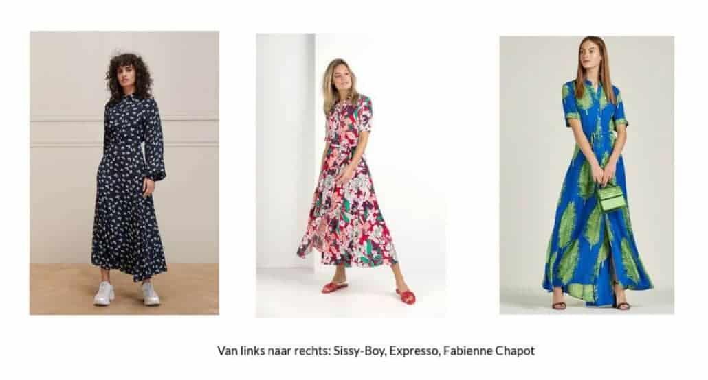 Hoe draag je een maxi jurk