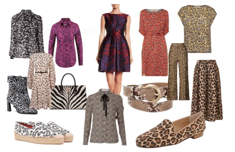 Luipaard en tijgerprintjes in kleding en op het werk