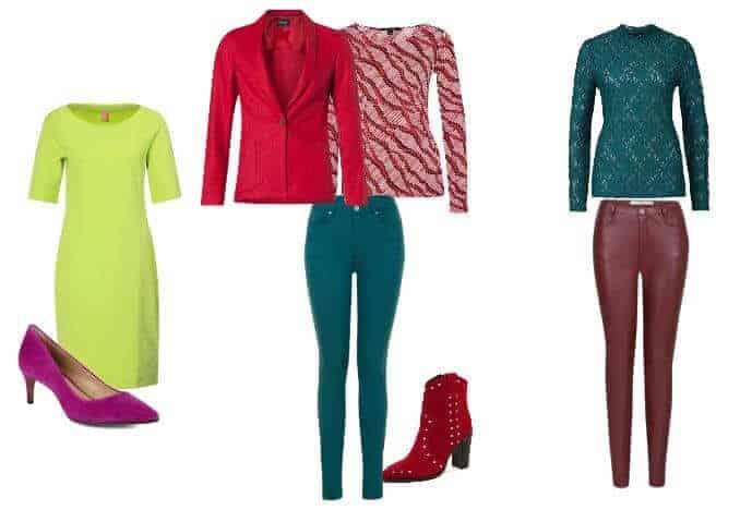Complementaire kleur- en kleurcombinatie in kleding