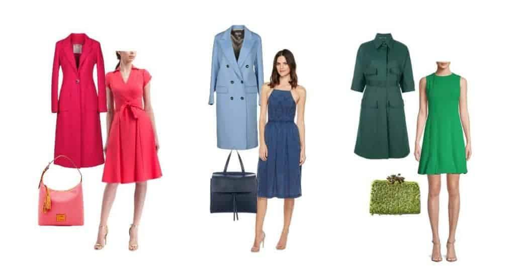 Ton-sur-ton outfits in monochrome kleuren