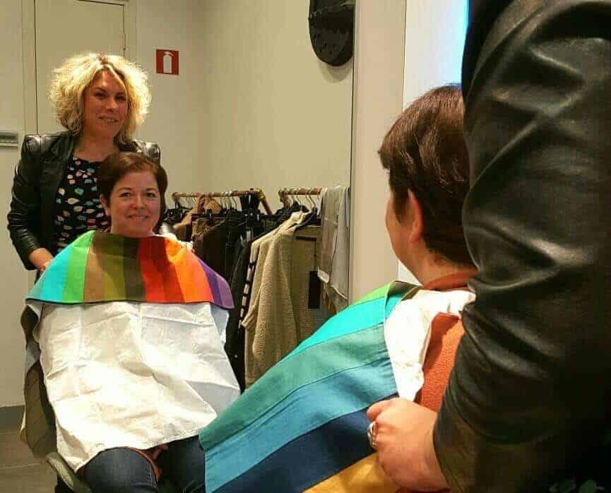 Kleuradvies voor een stylingadvies in een kledingwinkel
