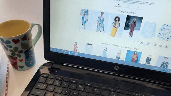 Online winkelen met een personal stylist