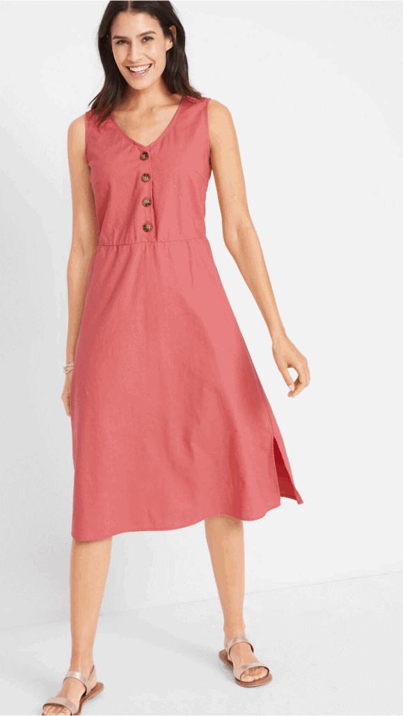 lange jurk voor veel figuurtypes