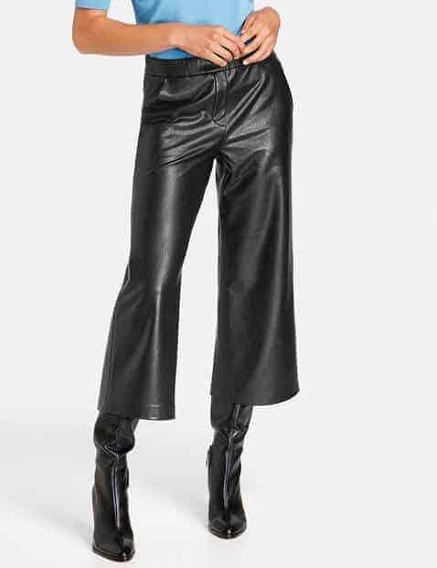 Culotte met lange laarzen